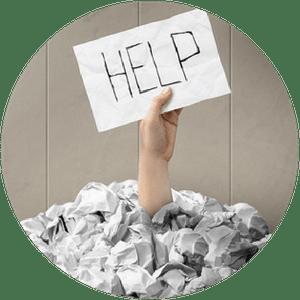 Um Hilfe und Unterstützung bitten!