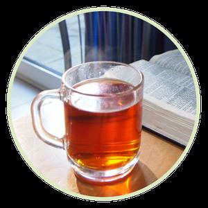 Ein warmer Tee wärmt auch die Seele
