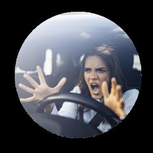 Nervosität, Hektik Stress verhindert inneren Frieden