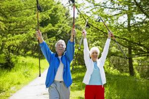 Ab an die frische Luft -Sport hilft gegen Stress