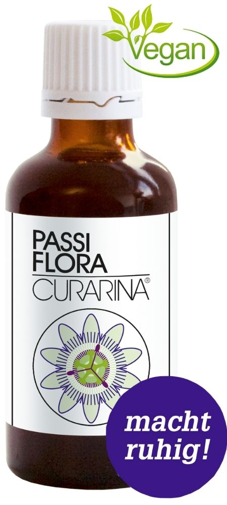 Passiflora Curarina macht ruhig