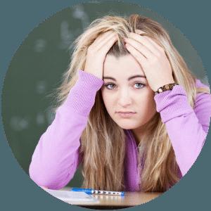 Innere Unruhe und Anspannung durch Schulstress